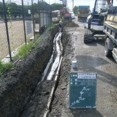 新浜町宅地造成に伴う上下水道管布設工事